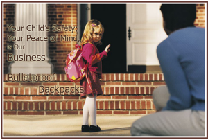 BulletBlocker Backpack Ad