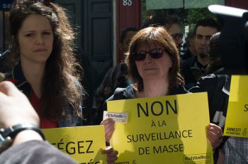 UnfollowMe protests in France